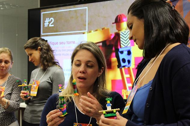 Brasil, LEGO Training with adults