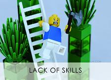 LEGO Creative Thinking Lack of Skills