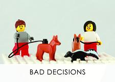 LEGO Creative Thinking Bad Decisions