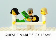 LEGO Diagnostic Card, Questionable Sick Leave