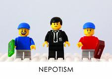 LEGO Creative Thinking Card Nepotism