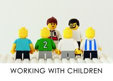 LEGO Diagnostic Card, Working with Children