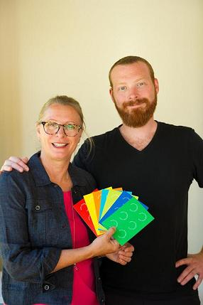 LEGO Diagnosic Cards Creators Jacquie and Steve