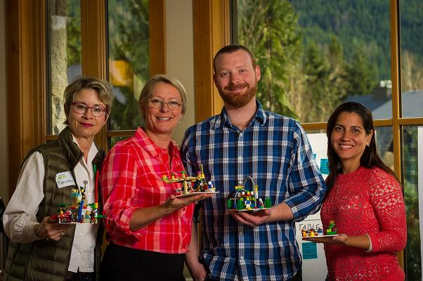 Lego Facilitators Group Photo