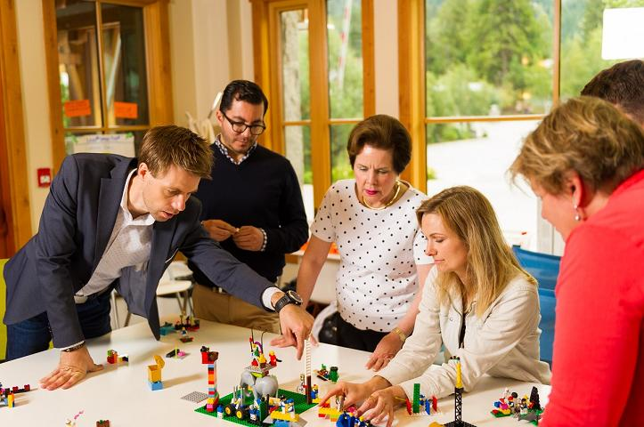 LEGO® SERIOUS PLAY® Used with Teams and Groups