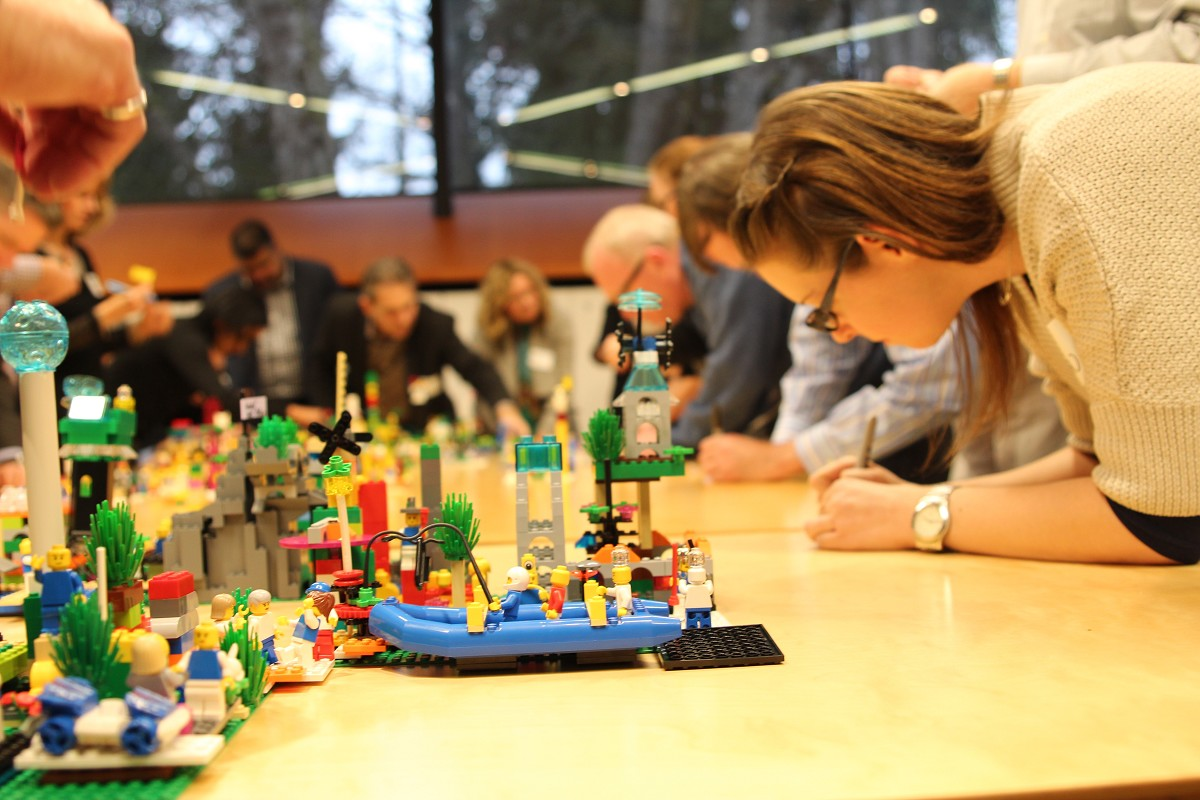 Innovation, Sandpit, & LEGO