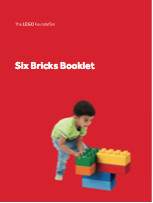 What can you do with six lego bricks? Six Bricks Booklet Free